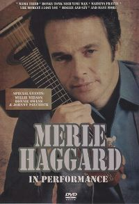 Cover Merle Haggard - In Performance [DVD]